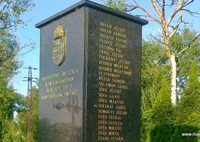 Nagyigmánd II.vh emlékmű 2011.05.29. küldő-Csiszár Lehel (9)