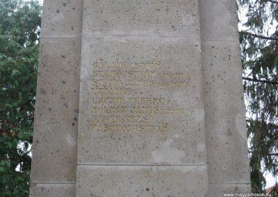 Nagykökényes I.vh emlékmű 2009.11.09. küldő-kalyhas (15)