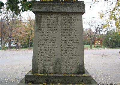 Nagykörü I.vh emlékmű 2008.10.23. küldő-Kályhás (4)