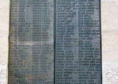 Nagykőrös I. világháborús emlékmű 2014.10.12. küldő-Emese (13)