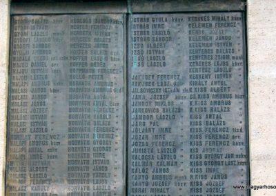Nagykőrös I. világháborús emlékmű 2014.10.12. küldő-Emese (14)