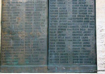 Nagykőrös I. világháborús emlékmű 2014.10.12. küldő-Emese (15)