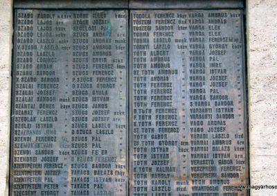 Nagykőrös I. világháborús emlékmű 2014.10.12. küldő-Emese (24)