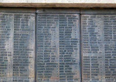 Nagykőrös I. világháborús emlékmű 2014.10.12. küldő-Emese (6)