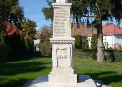 Nagykanizsa - Bajcsa világháborús emlékmű 2013.10.17. küldő-Sümec (2)