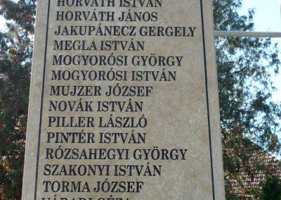 Nagykanizsa - Bajcsa világháborús emlékmű 2013.10.17. küldő-Sümec (7)
