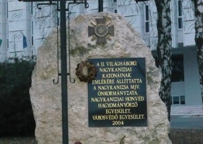 Nagykanizsa II.vh emlékmű 2009.01.01.küldő-Sümec (2)