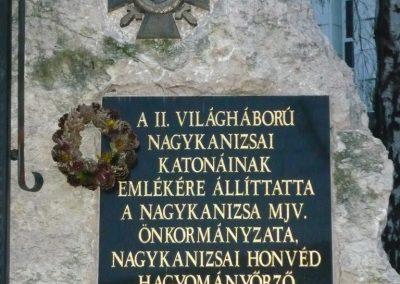 Nagykanizsa II.vh emlékmű 2009.01.01.küldő-Sümec (3)