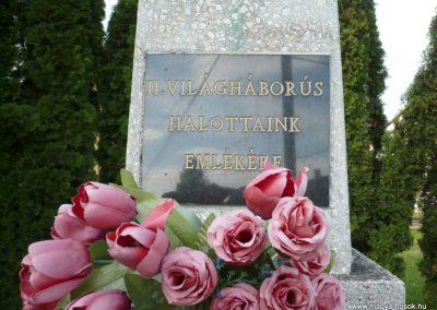 Nagykanizsa - Kisfakos II. világháborús emlékmű 2013.05.26. küldő-Sümec (3)