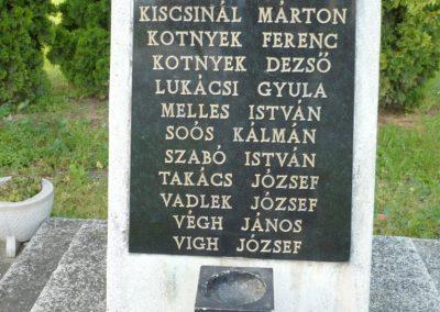 Nagykanizsa - Kisfakos II. világháborús emlékmű 2013.05.26. küldő-Sümec (4)