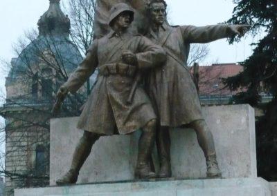 Nagykanizsa hősi emlékmű 2009.01.01.felújitás után küldő-Sümec (2)