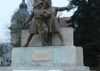 Nagykanizsa hősi emlékmű 2009.01.01.felújitás után küldő-Sümec
