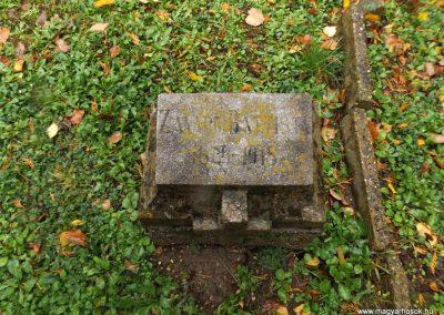 Nagykanizsa , temető I. világháborús emlékhely 2014.10.24. küldő-kalyhas (3)