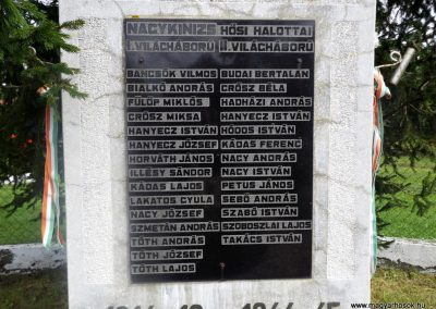 Nagykinizs világháborús emlékmű 2014.08.24. küldő-kalyhas (3)