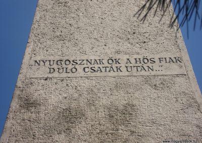 Nagykovácsi világháborús emlékmű 2008.05.07.küldő-Huszár Peti (6)