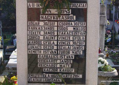 Nagykutas II.vh emlékmű 2009.11.16. küldő-HunMi (1)