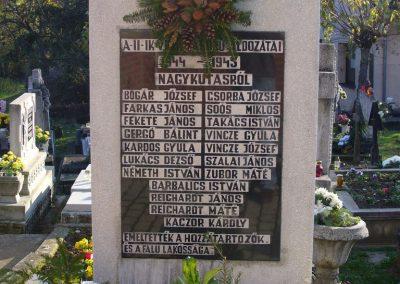 Nagykutas II.vh emlékmű 2009.11.16. küldő-HunMi