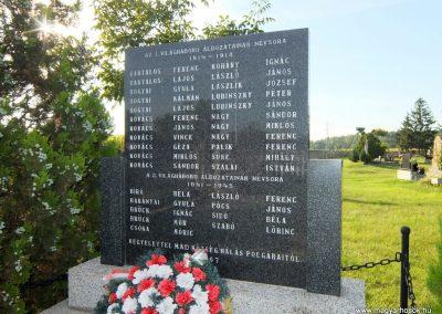 Nagymad világháborús emlékmű 2015.08.28. küldő-Méri (2)
