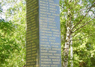 Nagymegyer I. világháborús emlékmű 2014.06.18. küldő-Méri (2)