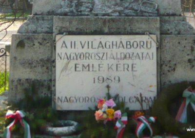 Nagyoroszi világháborús emlékmű 2009.04.13. küldő-Ágca (4)