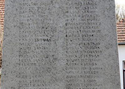 Nagyoroszi világháborús emlékmű 2009.04.13. küldő-Ágca (8)