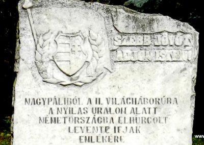 Nagypáli II. világháborús emlék 2018.03.11. küldő-Huber Csabáné (1)