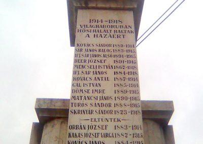 Nagypeterd világháborús emlékmű 2012.05.14. küldő-KRySZ (2)