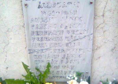 Nagypeterd világháborús emlékmű 2012.05.14. küldő-KRySZ (4)