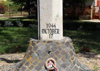 Nagyrábé II. világháborús emlékmű 2018.05.26. küldő-Bóta Sándor (3)