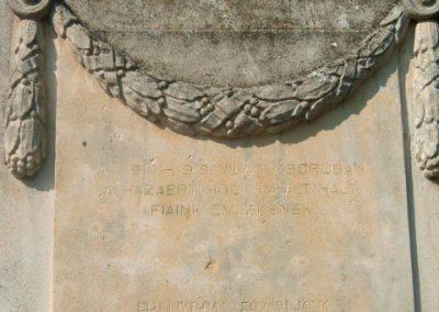 Nagysimonyi I.vh emlékmű 2009.09.22. küldő-kiev (1)