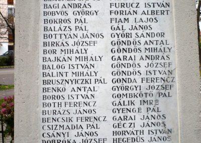 Nagyszénás I. világháborús emlékmű felújítás után 2014.11.20. küldő-Sümec (5)