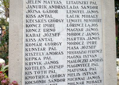 Nagyszénás I. világháborús emlékmű felújítás után 2014.11.20. küldő-Sümec (6)