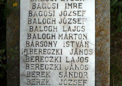 Nagyszalonta világháborús hősök emlékművei és síremlékei a temetőben 2013.06.29. küldő-Sümec (11)