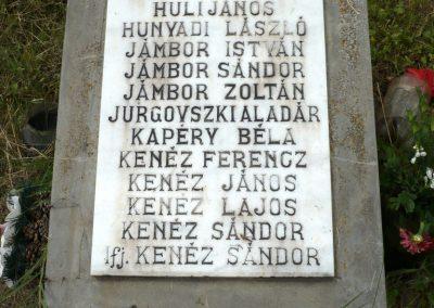 Nagyszalonta világháborús hősök emlékművei és síremlékei a temetőben 2013.06.29. küldő-Sümec (13)