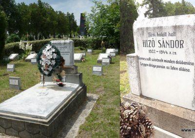 Nagyszalonta világháborús hősök emlékművei és síremlékei a temetőben 2013.06.29. küldő-Sümec (17)