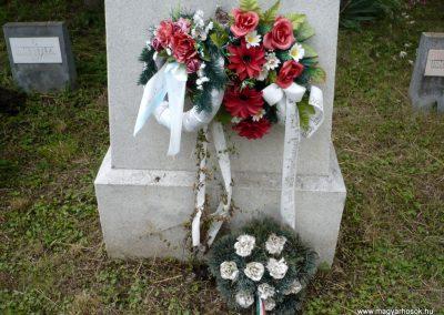 Nagyszalonta világháborús hősök emlékművei és síremlékei a temetőben 2013.06.29. küldő-Sümec (22)