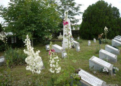 Nagyszalonta világháborús hősök emlékművei és síremlékei a temetőben 2013.06.29. küldő-Sümec (23)