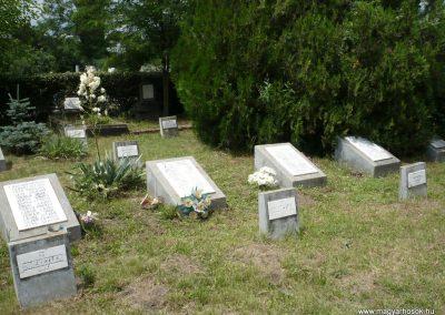 Nagyszalonta világháborús hősök emlékművei és síremlékei a temetőben 2013.06.29. küldő-Sümec (32)