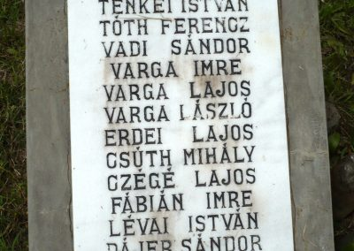 Nagyszalonta világháborús hősök emlékművei és síremlékei a temetőben 2013.06.29. küldő-Sümec (33)