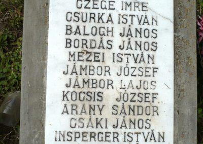 Nagyszalonta világháborús hősök emlékművei és síremlékei a temetőben 2013.06.29. küldő-Sümec (35)