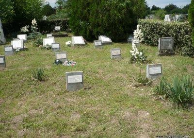 Nagyszalonta világháborús hősök emlékművei és síremlékei a temetőben 2013.06.29. küldő-Sümec (38)