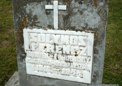 Nagyszalonta világháborús hősök emlékművei és síremlékei a temetőben 2013.06.29. küldő-Sümec (40)