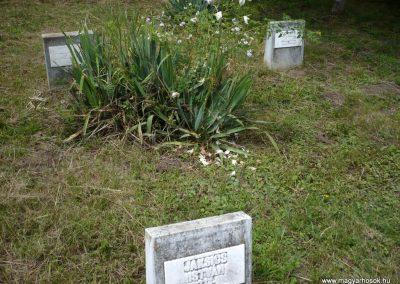 Nagyszalonta világháborús hősök emlékművei és síremlékei a temetőben 2013.06.29. küldő-Sümec (8)