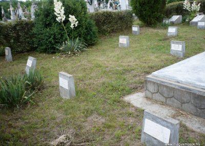 Nagyszalonta világháborús hősök emlékművei és síremlékei a temetőben 2013.06.29. küldő-Sümec (9)