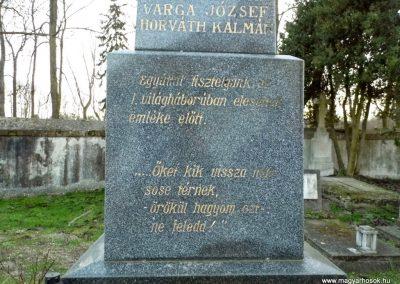 Nagyszarva világháborús emlékmű 2014.12.21. küldő-Méri (4)