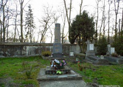 Nagyszarva világháborús emlékmű 2014.12.21. küldő-Méri
