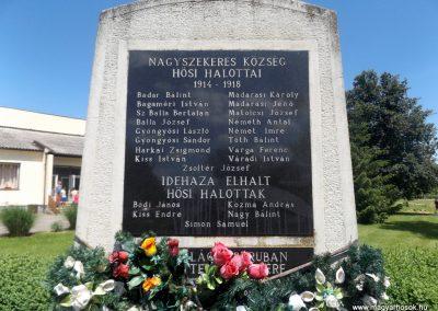 Nagyszekeres világháborús emlékmű 2017.05.28. küldő-kalyhas (2)