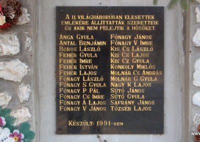 Nagyvisnyó II.vh emlékmű 2008.02.18. küldő-kalyhas (2)