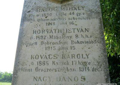 Nak-Nosztánypuszta I. világháborús emlékmű 2016.07.21. küldő-Emese (3)