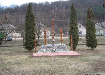 Nekézseny II.vh emlékmű 2008.02.18.küldő-Kályhás